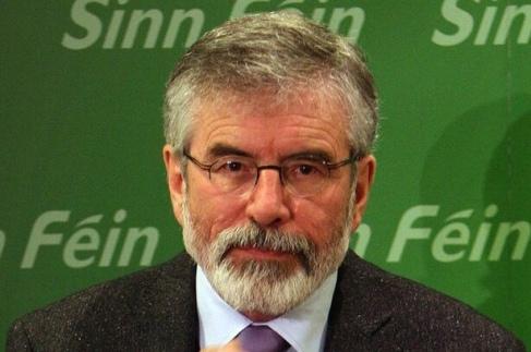 Gerry Adams, Leader of Sinn Fein
